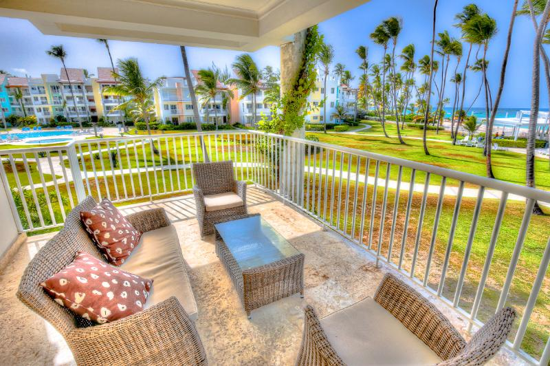 Beachfront Glamour 3 Bedroom Apartment T-I202 - Image 1 - Bavaro - rentals