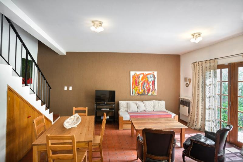Living dining room with sofa bed for 5th guest - 2 Bedroom Duplex with great location - Mendoza - rentals