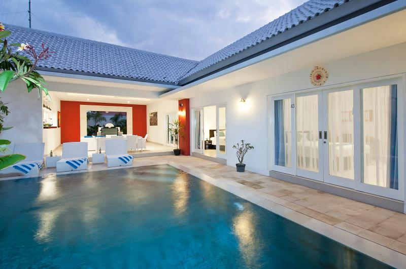 Pool Rooms & Living. - Bali 2 Bedroom Villa - Berawa Beach! - Kerobokan - rentals