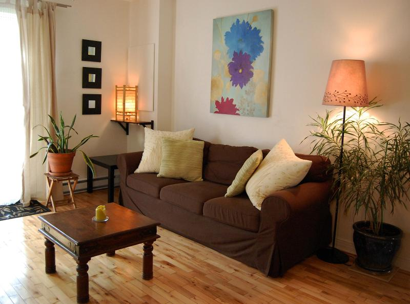 living room - Charming spot 15 min downtown - Montreal - rentals