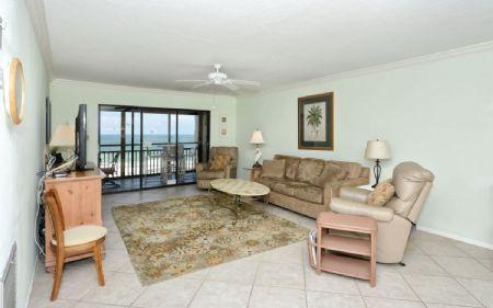 Living Room - Buttonwood 477 - Siesta Key - rentals