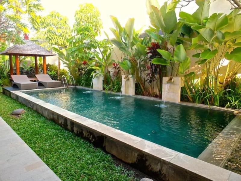 Pool view - Andamar, 3 Luxury, 3 Bedroom Villa,  Seminyak - Seminyak - rentals