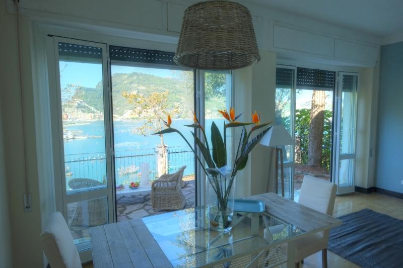 Dining area inside - Amazing seaview property on Palmaria Island - Portovenere - rentals