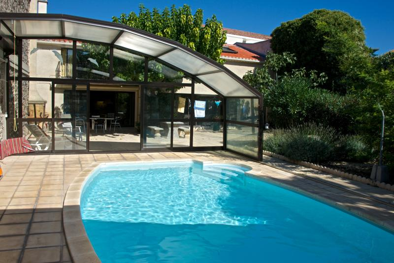 Charming and spacious Marseillan harbour apartment with garden and pool - Image 1 - Marseillan - rentals