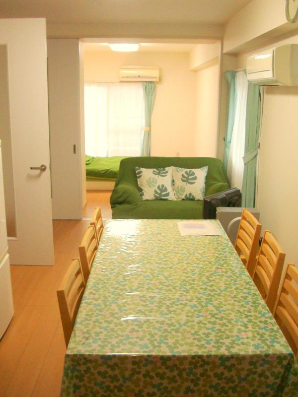 NFC2BR Kitchen (from the entrance side) - Close to Shinjuku 2BR Apartment, Central Tokyo! - Nakano - rentals