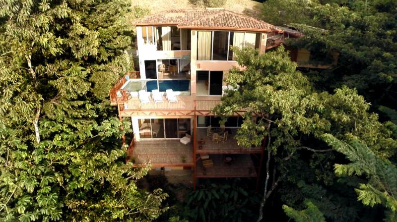 5,000 sq.ft 7br/8ba Happy Jacana Villa Getaway - Image 1 - Quepos - rentals