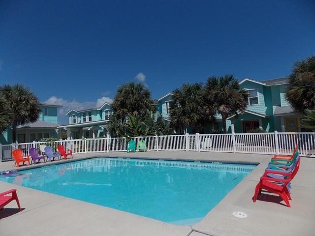 Reel Paradise, 3 bedrm with nice tropical pool - Image 1 - Port Aransas - rentals