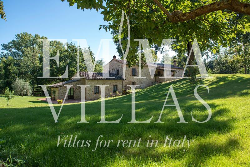 Rustic Stone Brick Villa on Siena Countryside - Image 1 - Siena - rentals