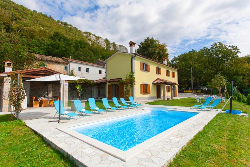 4 bedroom villa with a stunning view over istrian hills - Image 1 - Boljun - rentals