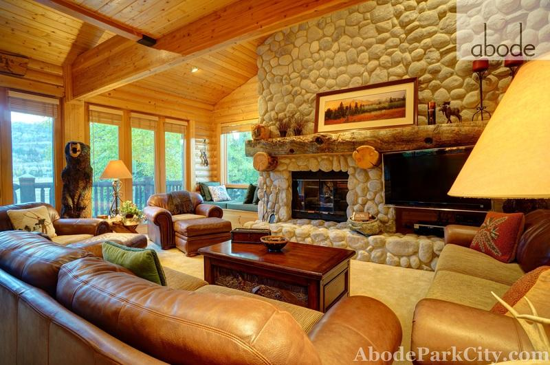 Hand-Peeled Pine Walls and 3 Fireplaces make this Deer Valley a winner! - Image 1 - Park City - rentals