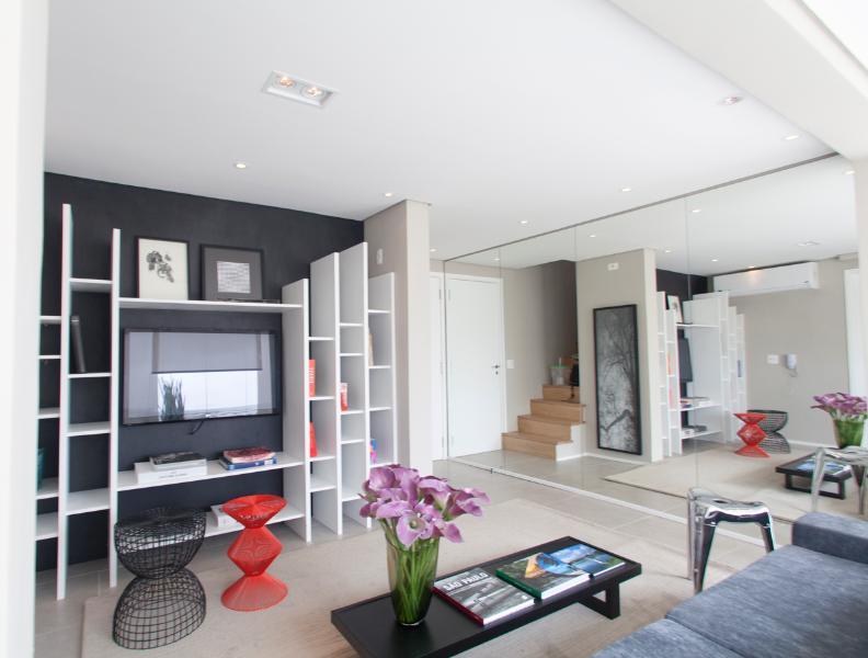 Vila Olímpia Affinity Duplex Penthouse - Image 1 - Sao Paulo - rentals