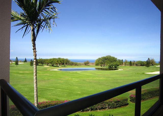 Beautiful golf course and ocean views! - Waikoloa Fairways A208-WF A208 - Waikoloa - rentals