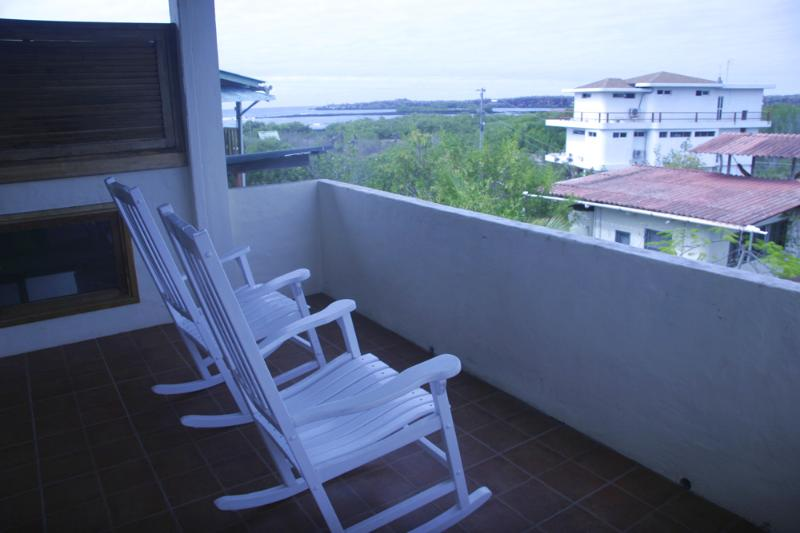 A view from the rocking chairs on the terrace - Mimosa - Puerto Ayora - rentals