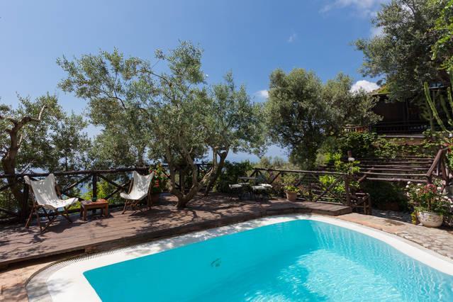 Spectacular 4 bedroom villa on the Amalfi Coast - Image 1 - Positano - rentals