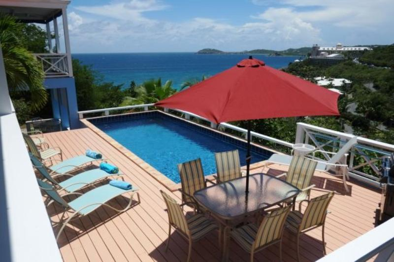 Calypso Blu at Frenchmans Bay Estates, South Side, St. Thomas - Ocean View - Image 1 - Frenchman's Bay - rentals