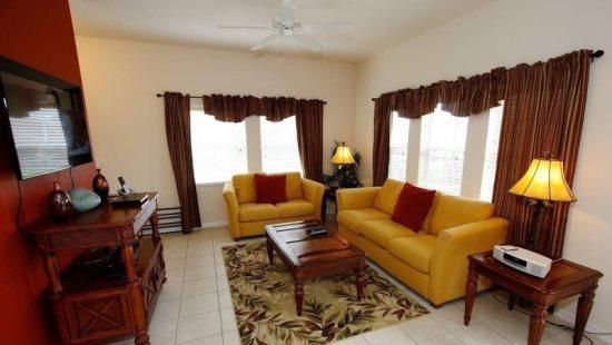 Amazing 4 Bedroom 3 Bathroom Town Home in Encantada Resort. 3153YLL - Image 1 - Orlando - rentals