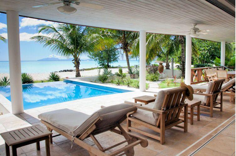 Villa Nirvana Beach House - Jolly Harbour, Antigua - Beachfront, Gated Community, Pool - Image 1 - Jolly Harbour - rentals