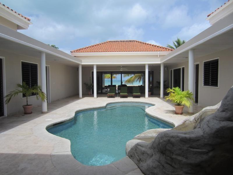 North Finger Beach House - Jolly Harbour, Antigua - Beachfront, Poolold - Image 1 - Jolly Harbour - rentals