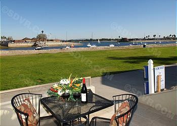 patio - 3680 Bayside Walk - Pacific Beach - rentals