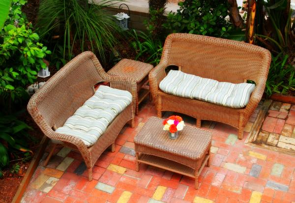 815 garden patio - 815 Aspin Ct. - San Diego - rentals