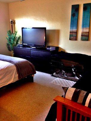 bedroom with queen - 2829 Bayside Lane - San Diego - rentals