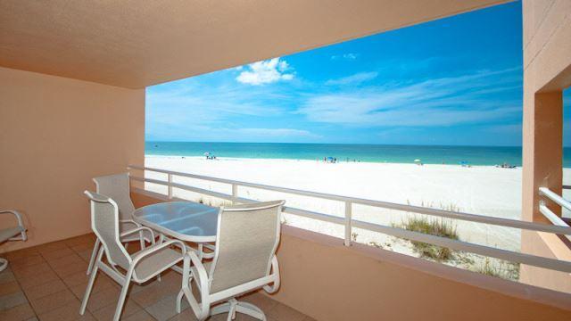Views from balcony - Coquina Beach Club - Bradenton Beach - rentals