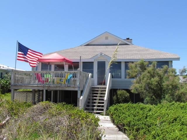 "1602 Palmetto Blvd - "" The Original Sea Oats- Up"" - Image 1 - Edisto Beach - rentals"
