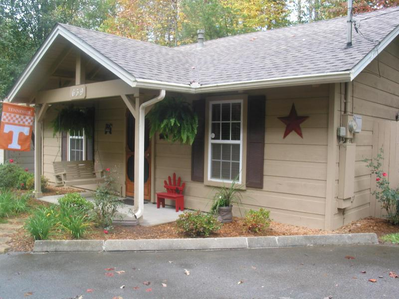 street view of cabin - cute cozy cabin - Gatlinburg - rentals