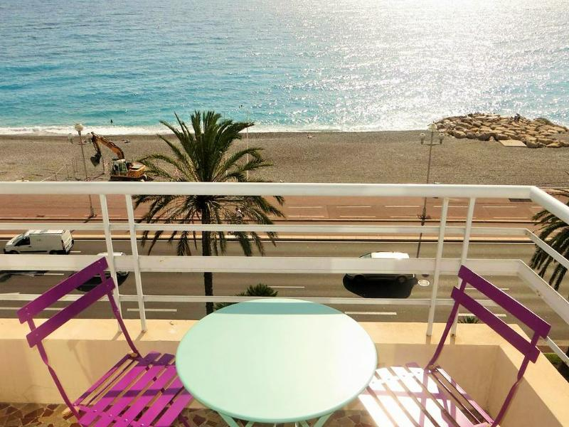 view from terrace on 5 th floor - 1 Bedroom Apartment Promenade With Amazing Seaview - Nice - rentals