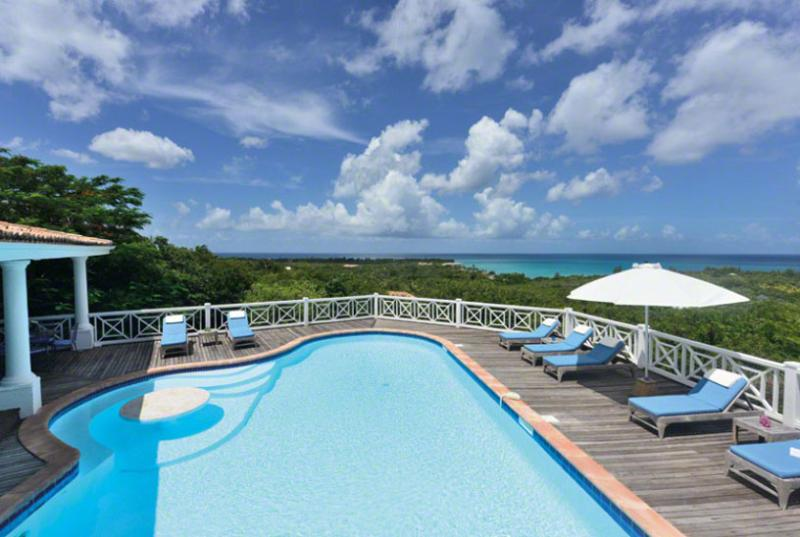 SPECIAL OFFER: St. Martin Villa 85 From Any Vantage Point Along The Lengthy Sea-facing Deck You Feel Like You're On Top Of The World. - Image 1 - Terres Basses - rentals