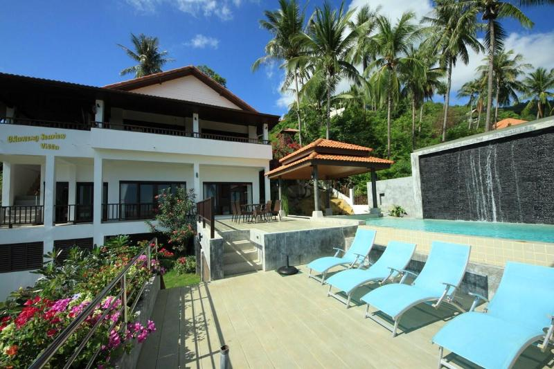 Swimming pool area - Chaweng Seaview Villa - Chaweng - rentals