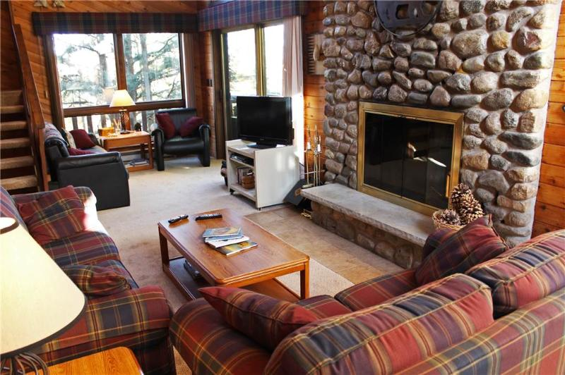 Located at Base of Powderhorn Mtn in the Western Upper Peninsula, A Spacious Trailside Home with Large Stone Fireplace, Indoor Hot Tub & Allows Dogs - Image 1 - Ironwood - rentals