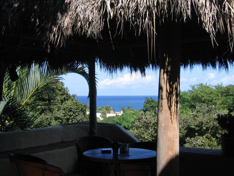 View from under the palapa-covered terrace - Libertad Suites - Sayulita - rentals