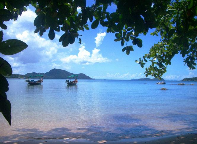 Your stunning view from The Beach House! - Beachfront Studio Apartment with Stunning Sea Views - Rawai - rentals