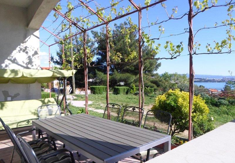Extraordinary Sea View Apartment Split/Trogir - Image 1 - Kastel Sucurac - rentals