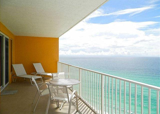 Balcony - Treasure Island in Panama City Beach - March 11-25 is Open - Panama City - rentals