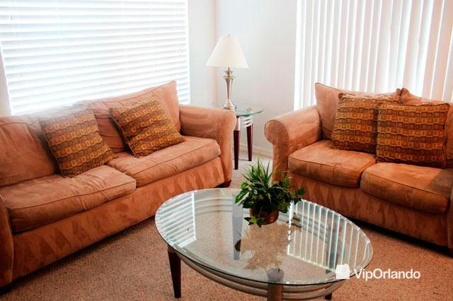 Living room with comfy sofas - Family VIP ORLANDO 4 bedrooms Villa near to the parks -  Spilgold 4sh01 - Kissimmee - rentals