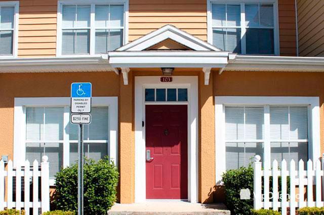 Beautiful entrance to this wonderful Villa - Comfortable VIP 3 bedrooms Villa - Seven 3vs01 - Kissimmee - rentals