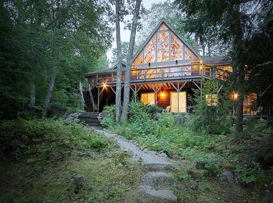 Maitri House on Megunticook Lake in Camden, Maine - MAITRI HOUSE - Town of Camden - Megunticook Lake - Camden - rentals