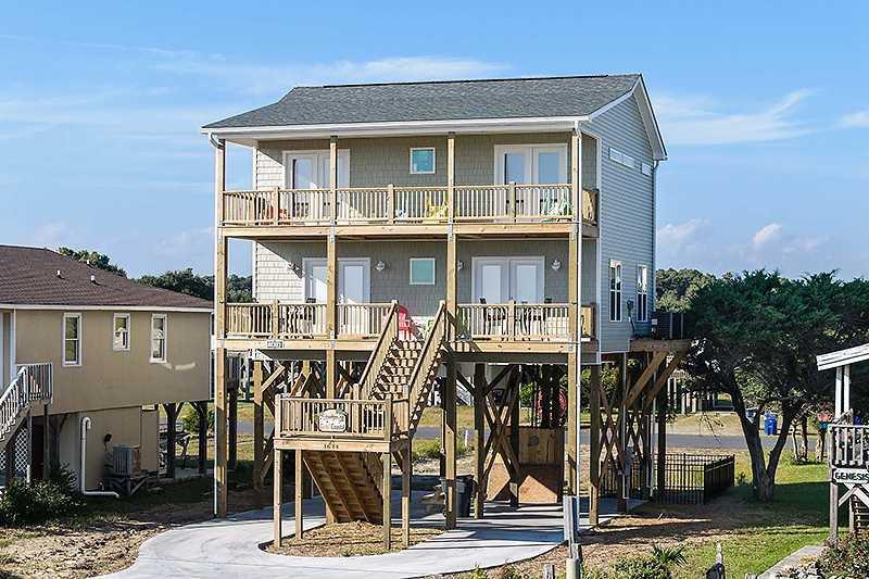 Goin' Coastal 1614 E Beach Drive - Image 1 - Oak Island - rentals