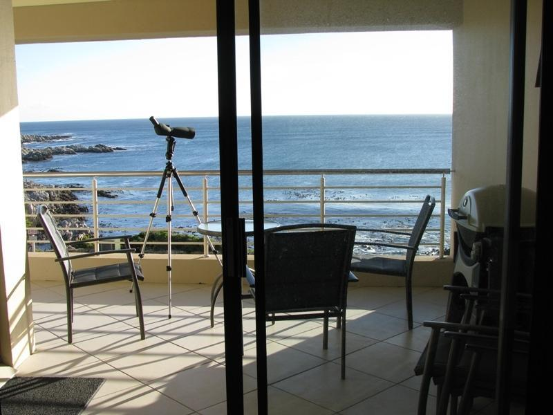View from balcony - Whale Cove A104 - De Kelders - rentals