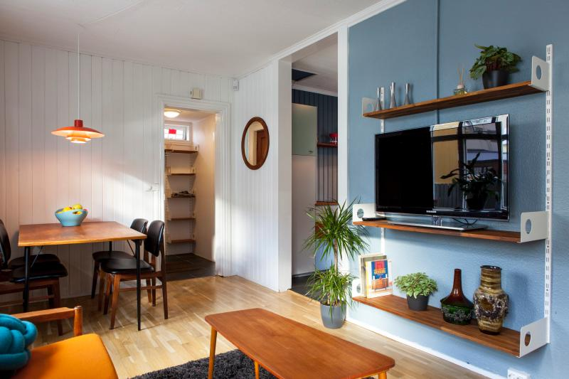 Living room-1st floor - Family Home in Reykjavik city center - Reykjavik - rentals