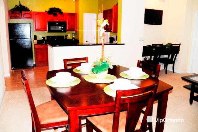 Elegant dining table for 4 - Great 2 bed Vip condo in Cane Islad resort- Island 2AV02 - Kissimmee - rentals
