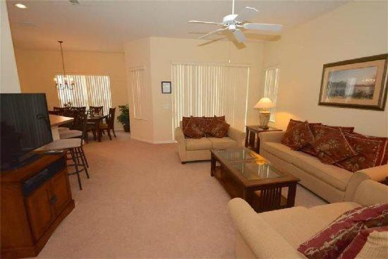 5 Bedroom Villa with Pool and Spa in Tuscan Hills. 526BD - Image 1 - Orlando - rentals