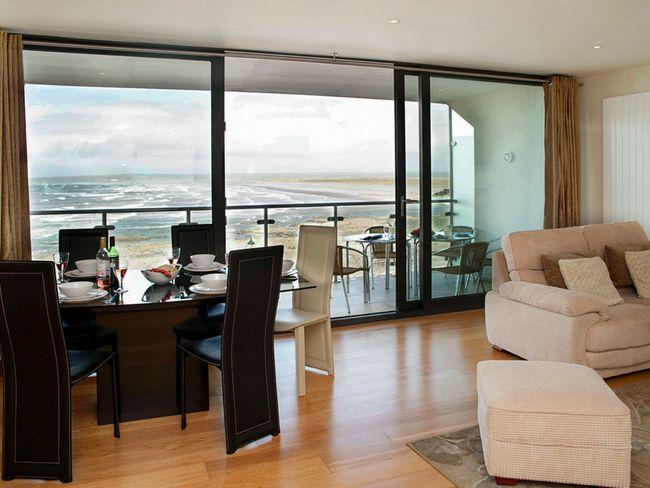 Lounge/dining area large balcony and fantastic sea views - WATED - Westward Ho - rentals