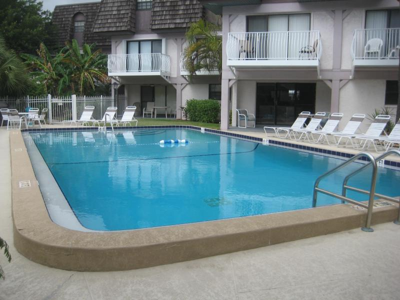 Pool - Beach condo next door to Cocoa Beach Pier - Cocoa Beach - rentals