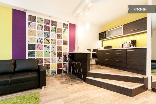 CenterStudio with BALCONY in the downtown - Image 1 - Budapest - rentals