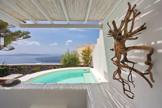 Morfes Luxury Residence Sleeps for 2-3 persons! - Image 1 - Firostefani - rentals
