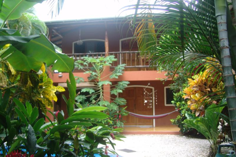 The main house, two apartments, upstairs Iguana and downstairs Toucan - Casa Bambula-Jungle Oasis in the Heart of Samara - Playa Samara - rentals