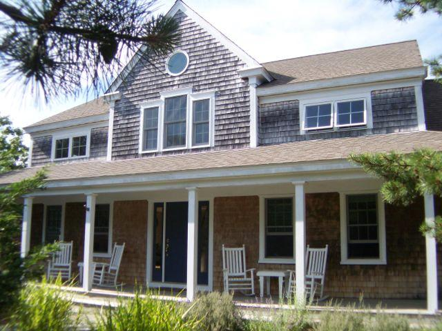 Modern home with an attractive farmer's porch - Pristine & Cheery Near Perfect Eastham Beach:260-E - Eastham - rentals